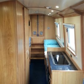 Interior of Aintree Beetle by Aintree Boats