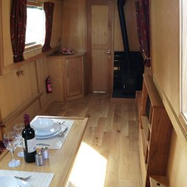 Crick - Fully fitted narrowboat by Aintree Boats